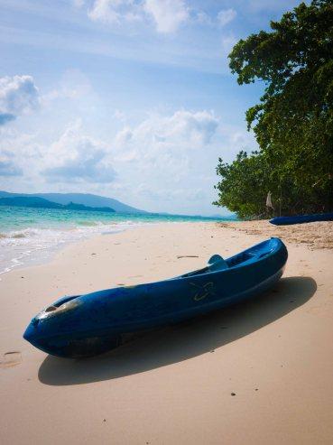 phi phi island - boat