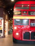 red double decked bus... english style